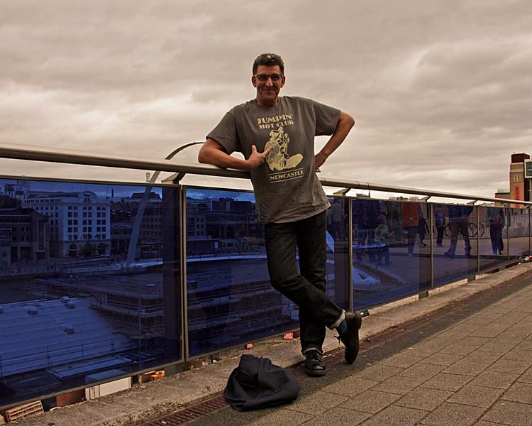 Mr Drayton rocking a JHC T-Shirt
