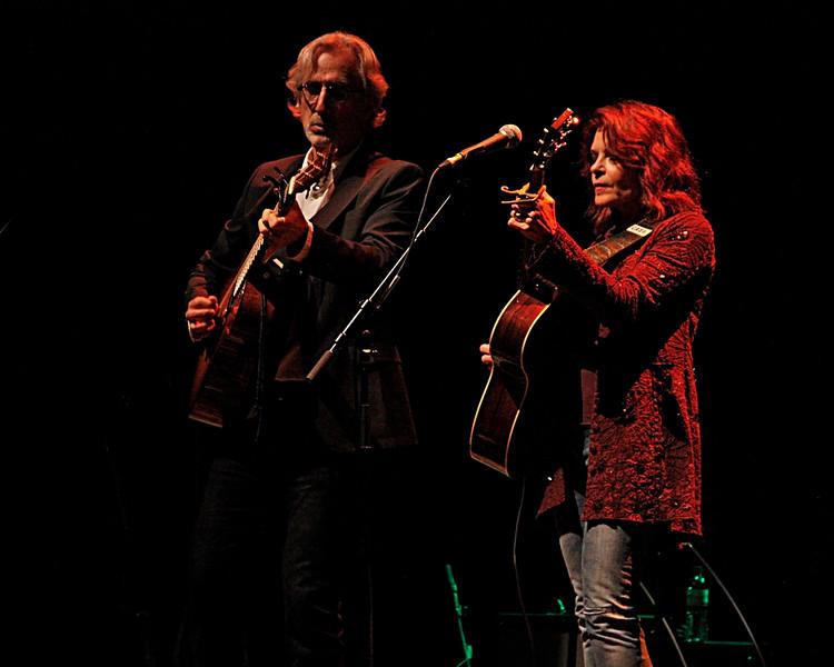 Rosanne Cash and John Levanthall