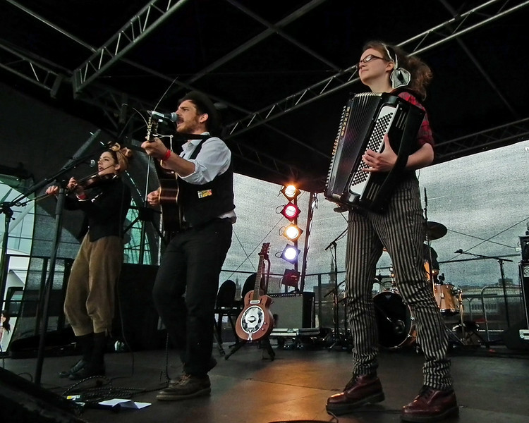 Holy Moly and the Crackers at Sage Gateshead SummerTyne Americana Festival 2012