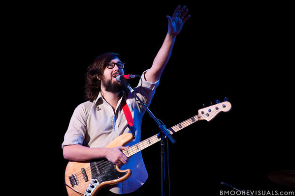 """Jonathan Berlin of Sunbears performs during Yo Gabba Gabba! Live! """"There's A Party In My City"""" at St. Pete Times Forum on October 30, 2010 in Tampa, Florida"""