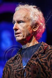 WEST HOLLYWOOD, CA - AUGUST 16:  Guitarist Robby Krieger of The Doors speaks at the 5th Annual Sunset Strip Music Festival launch with a celebration of The Doors at House of Blues Sunset Strip on August 16, 2012 in West Hollywood, California.  (Photo by Chelsea Lauren/WireImage)