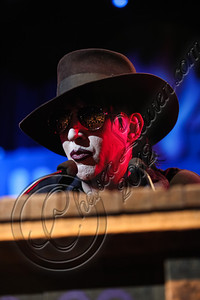 WEST HOLLYWOOD, CA - AUGUST 16:  Musician Marilyn Manson speaks at the 4th Annual Sunset Strip Music Festival launch with a celebration of The Doors at House of Blues Sunset Strip on August 16, 2012 in West Hollywood, California.  (Photo by Chelsea Lauren/WireImage)