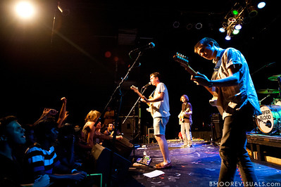 Surfer Blood perform on September 19, 2010 at State Theatre in St. Petersburg, Florida.