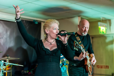 Blue Touch at the British Legion