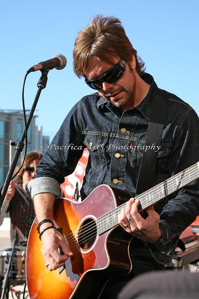Drew on guitar (AT&T Park, San Francisco, CA - 11May2010)