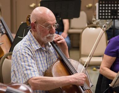 Nick Heffter -- Symphony of the Potomac rehearsal, May 2014