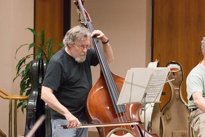 MIchael Rohrer -- Symphony of the Potomac rehearsal, May 2014