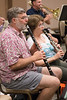 Steve Lawson, Nancy Genovese -- Symphony of the Potomac rehearsal, May 2014