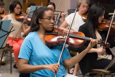 Karla Smith -- Symphony of the Potomac rehearsal, May 2014