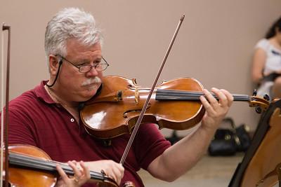 Michael O'Hanlan -- Symphony of the Potomac rehearsal, May 2014