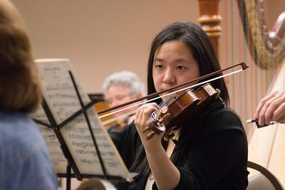 Tiffany Tsay -- Symphony of the Potomac rehearsal, May 2014