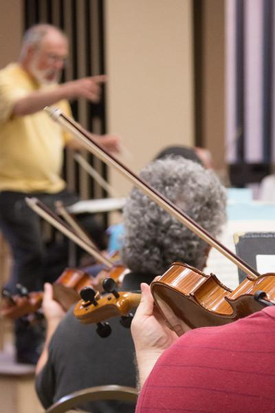 Symphony of the Potomac rehearsal, May 2014