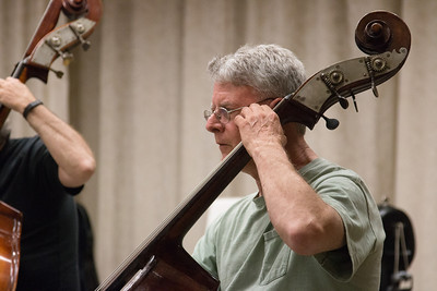Robert Busby -- Symphony of the Potomac rehearsal, May 2014