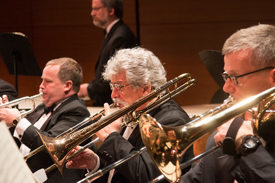 David Kanter (center) -- Symphony of the Potomac, January 29, 2017