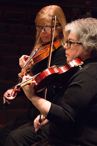 Allie Laban Baker, Heidi Strassler -- Symphony of the Potomac at the Cultural Arts Center, Silver Spring, MD, February 2018.