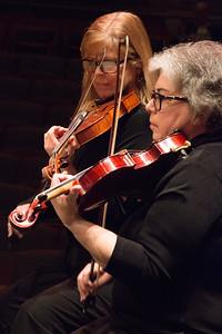 Allie Laban Baker, Heidi Strassler -- Symphony of the Potomac at the Cultural Arts Center, Silver Spring, MD, February 2018.