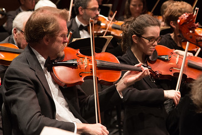 David Jollie, Talya Schenk -- Symphony of the Potomac at the Cultural Arts Center, Silver Spring, MD, February 2018.