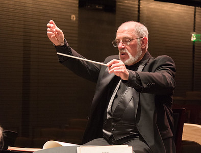 Joel Lazar, Music Director -- Symphony of the Potomac at the Cultural Arts Center, Silver Spring, MD, February 2018.