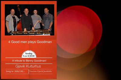 4 GOOD MEN PLAYS GOODMAN / Gjøvik Kulturhus 06/11/2015