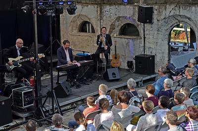 GISLE BØRGE STYVE TRIO Hovdetoppen, Gjøvik 24/08/2013 --- Foto: Jonny Isaksen