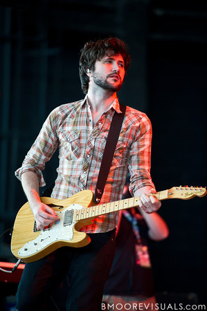 John Nolan of Taking Back Sunday performs on December 3, 2011 during 97X Next Big Thing at 1-800-ASK-GARY Amphitheatre in Tampa, Florida