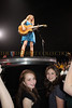 Lauren Gimpel and Alana Galloway are thrilled to be up close and personal with Taylor Swift during her Fearless performance at Nassau Coliseum, May 15, 2010.