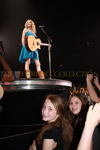 Lauren Gimpel and Alana Galloway in VIP area for friends and family at Nassau Coliseum TAYLOR SWIFT performs during her FEARLESS Tour