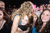 Lauren Gimpel of Stamford, CT. gets a big hug from Taylor Swift as Alana Galloway from Greenwich, Ct. looks on