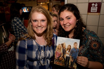 Abby Rawlings of Alexandria and Mollie Luken of Cold Springs, KY at Taylor Swift