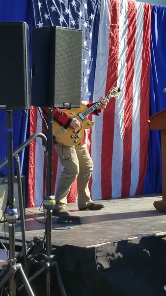 Ted Nugent Plays Star Bangled Banner at Trump Jr. Rally in Traverse City