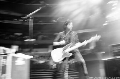 Tenth Avenue North perform on January 16, 2010 during Winter Jam at St. Pete Times Forum in Tampa, Florida