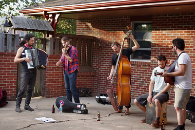 The Tequila Mockingbird Orchestra, house concert, Mountain View, Missouri, September 8, 2011.