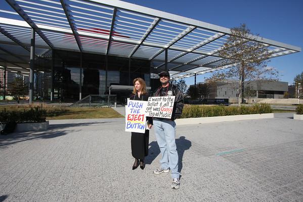 Texas Ballet Theater protest November '09