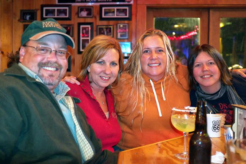 Charlie, Cindy, Susan, Jana