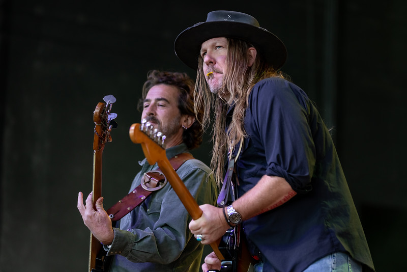 The Allman Betts Band at the TCU Amphitheater at White River State Park Indianapolis, IN September  23, 2021.