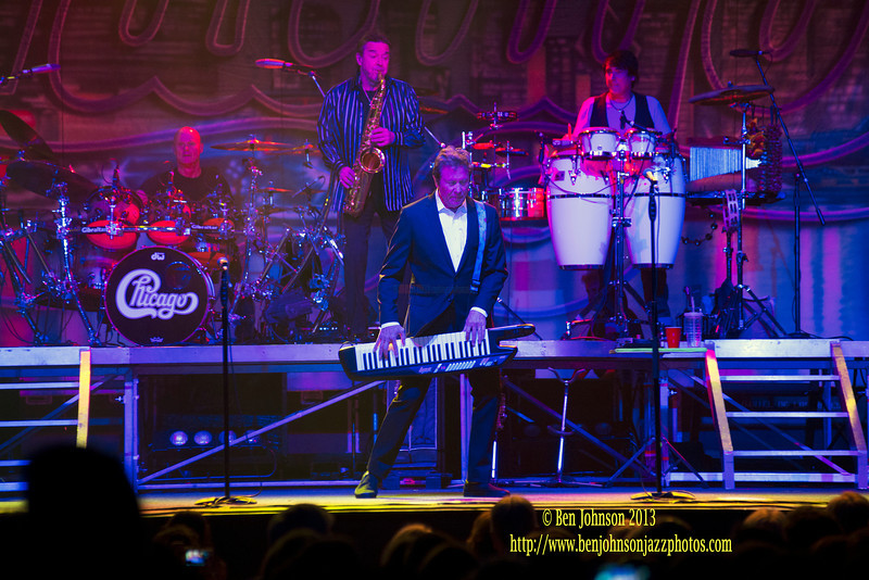 The band Chicago  performing at Borgata Event Center in Atlantic City New Jersey,  May 24, 2013