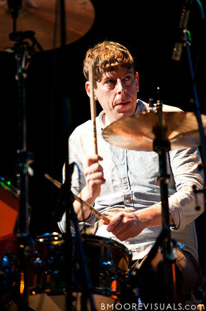 "Patrick Carney of The Black Keys performs in support of ""Brothers"" on December 5, 2010 during 97X Next Big Thing at 1-800-ASK-GARY Amphitheatre in Tampa, Florida"