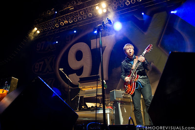 "Dan Auerbach of The Black Keys performs in support of ""Brothers"" on December 5, 2010 during 97X Next Big Thing at 1-800-ASK-GARY Amphitheatre in Tampa, Florida"