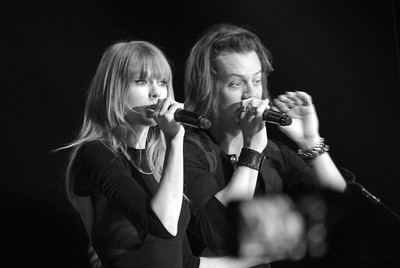 Taylor & Tyler ~ black and white