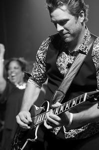 Joe Don Rooney ~ Rascal Flatts ~ black and white