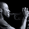 Trombone Shorty ~ black and white