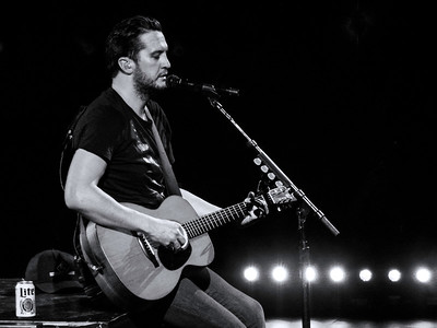 Luke Bryan ~ black and white