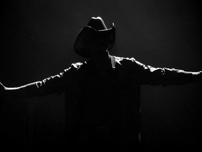 Tim McGraw ~ black and white