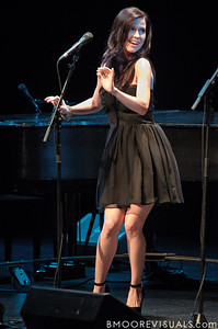 Joy Williams of The Civil Wars performs on February 2, 2012 at The Straz Performing Arts Center in Tampa, Florida