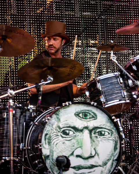 The Claypool Lennon Delirium at the Farm Bureau Insurance Lawn in Indianapolis, Indiana on July 26, 2019. Photo by Tony Vasquez for Front Row Report.