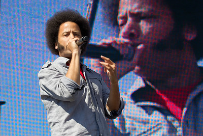 The Coup, 10/13/2012, Treasure Island Music Festival, San Francisco