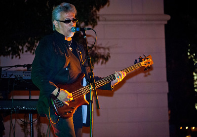 Joe Orlando of the The Cryers live at the Freehold Legends of Rock series in 2011.