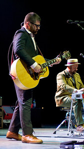 The Decemberists perform at PNC Pavilion on Thursday