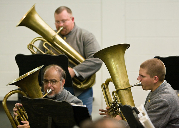 The Eighth Regiment Band at the Moravian Music Foundation