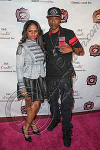 LOS ANGELES, CA - DECEMBER 15:  Recording artist Glo (L) and choreographer Flii Stylz arrive at the 5 Little Princesses music showcase at Studio Instrument Rentals, Inc. on December 15, 2012 in Los Angeles, California.  (Photo by Chelsea Lauren/WireImage)